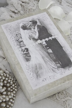 SALE!! JDL Weddingbox, Vintage