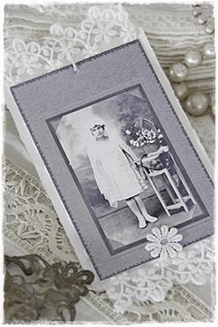JDL Vintage Kaart/ Kant