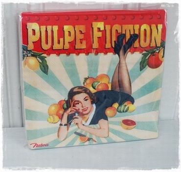 Pakje 20 Servetten Pulpe Fiction