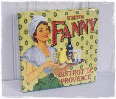 Pakje 20 Servetten, Fanny