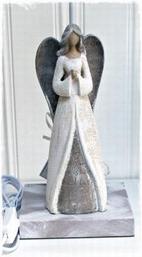 Brocante Lampenvoet Maria