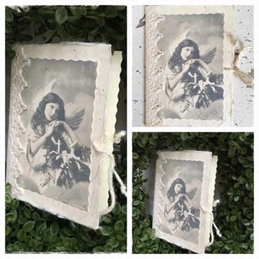 Hele Mooie Kerstkaart Met Antieke Afbeelding