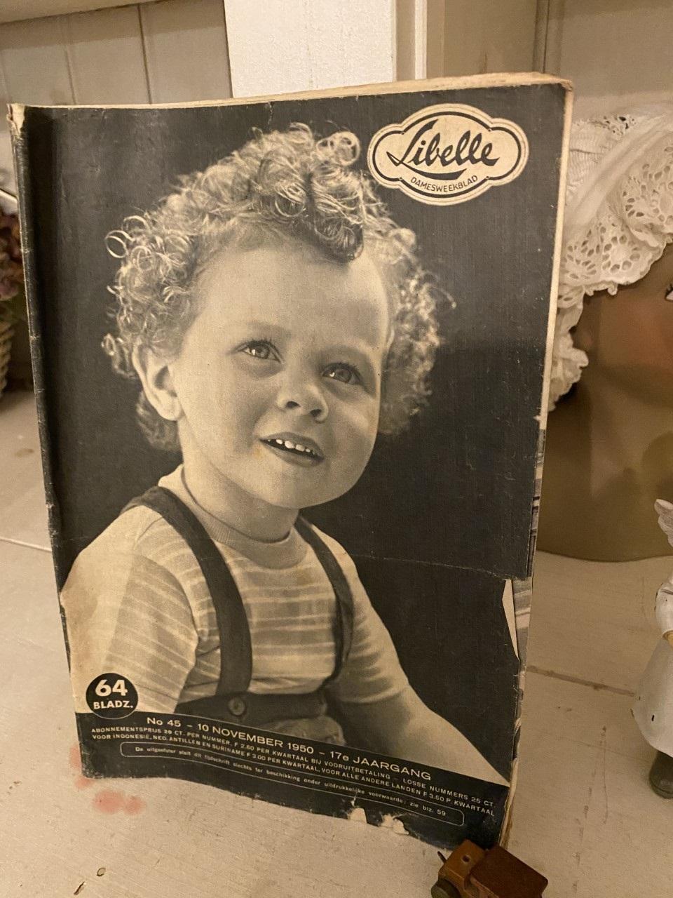 70 Jaar Oude Libelle Nr. 45, 10 November 1950 ,